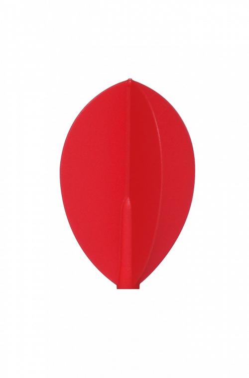 Voadores Fit Flight Oval Vermelho 3 uds