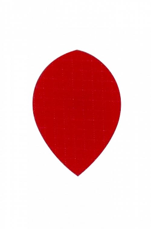 Voadores Tecido Oval Vermelho