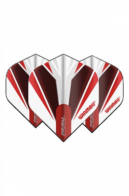 Voadores Winmau Alpha Standard Branco/Vermelho
