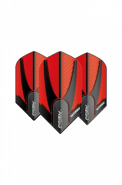 Winmau Alpha Slim Flights Red/Black