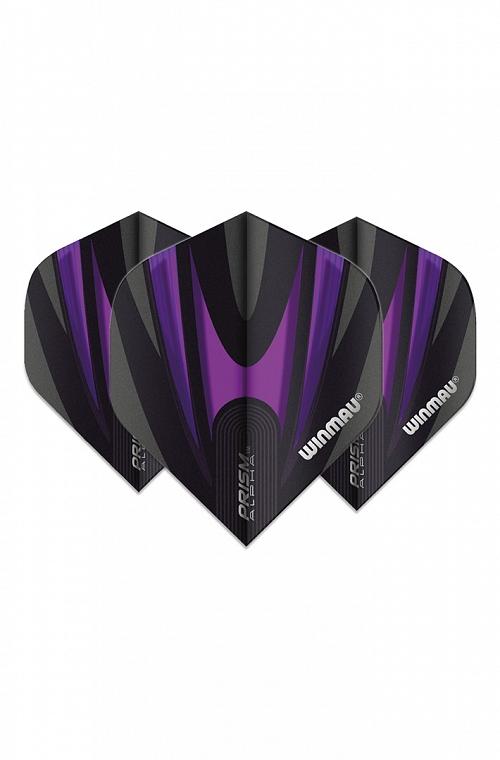 Winmau Alpha Standard Flights Black/Purple