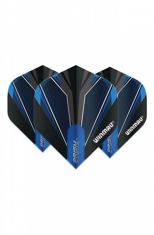 Winmau Alpha Standard Flights Blue/Black