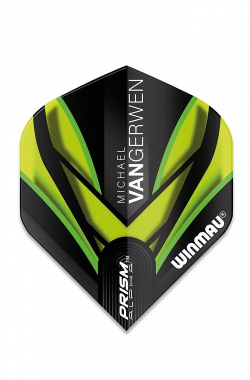 Winmau Alpha Standard MVG Flights Black/Green