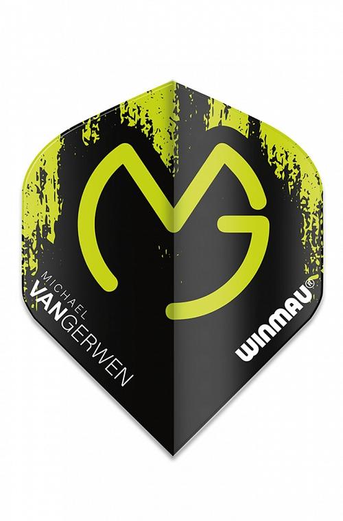 Winmau Mega Standard MVG Flights Black/Green