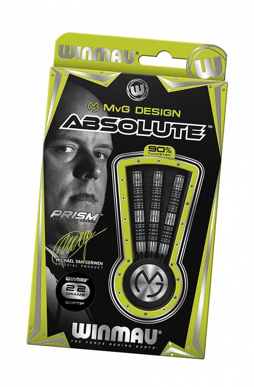 Winmau MVG Absolute Darts 22gr