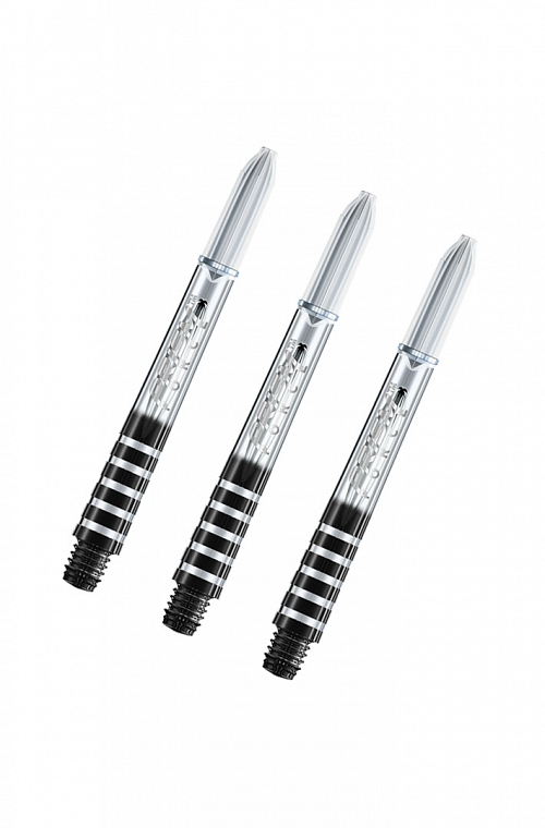 Winmau Prism Force Medium Shafts Clear